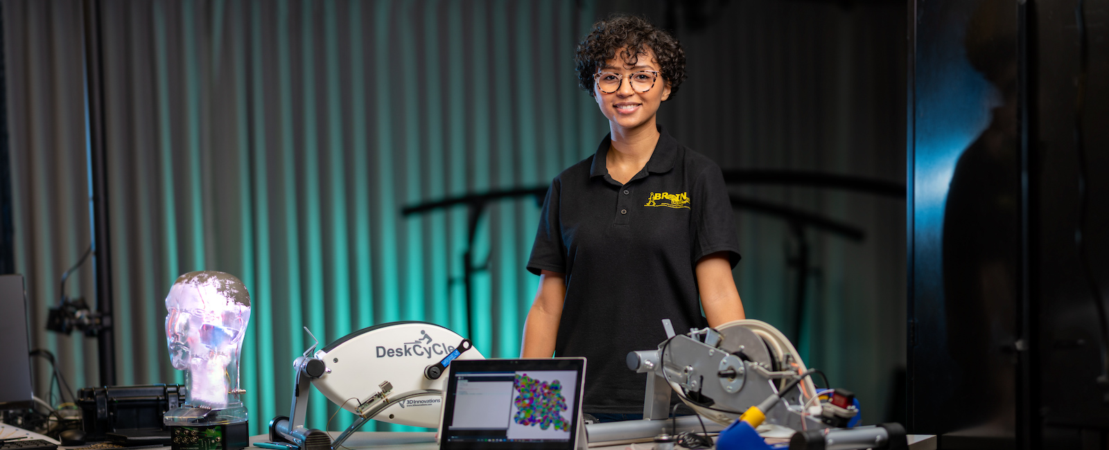 Valencia College grad, Lietsel Richardson engineering at UCF