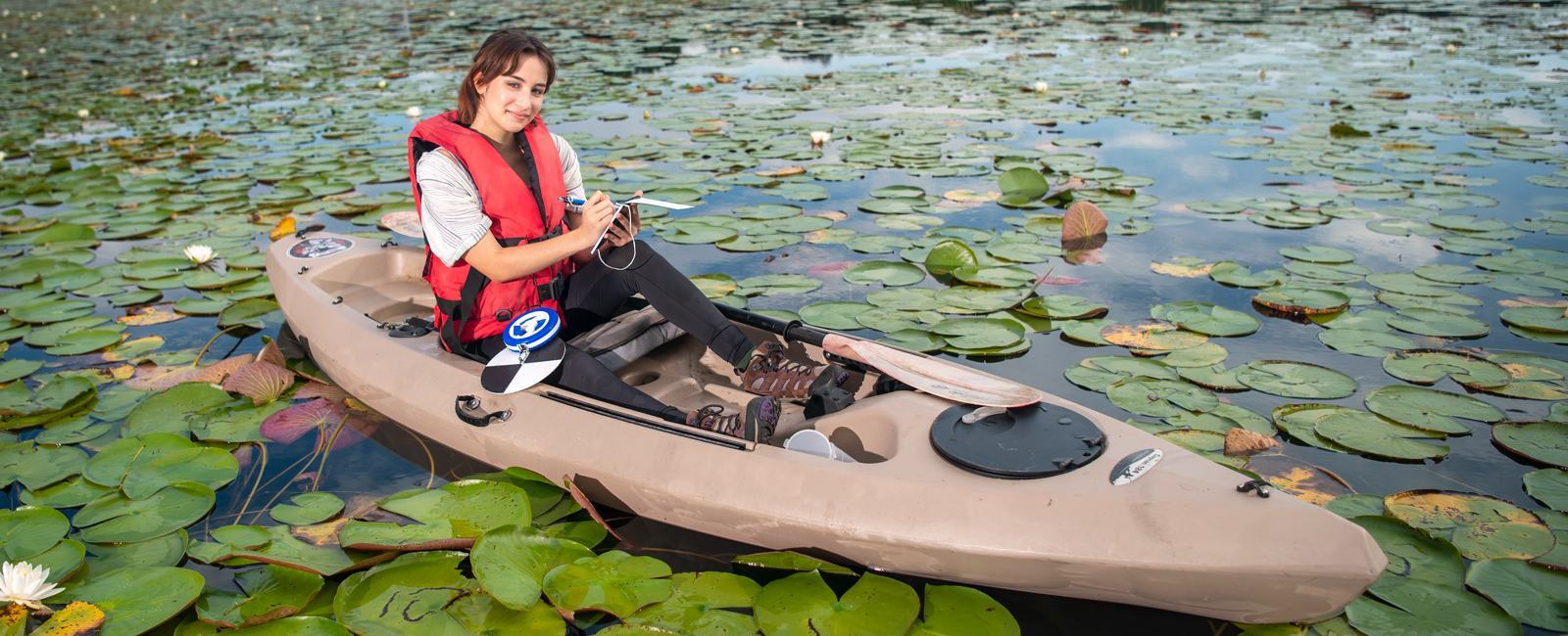 Nadia Vidal came to Valencia College in the wake of Hurricane Maria. Now she's exploring a future as an oceanographer.