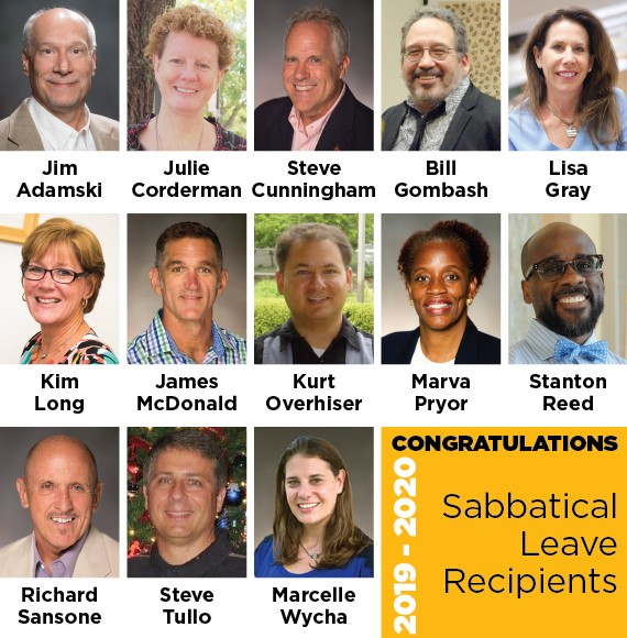 Sabbatical Recipients 19-20