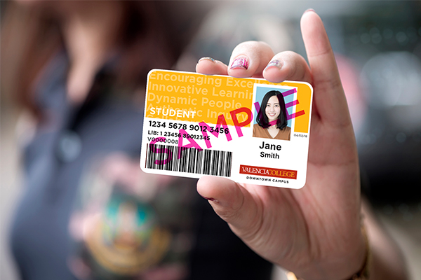Downtown Campus Identification card