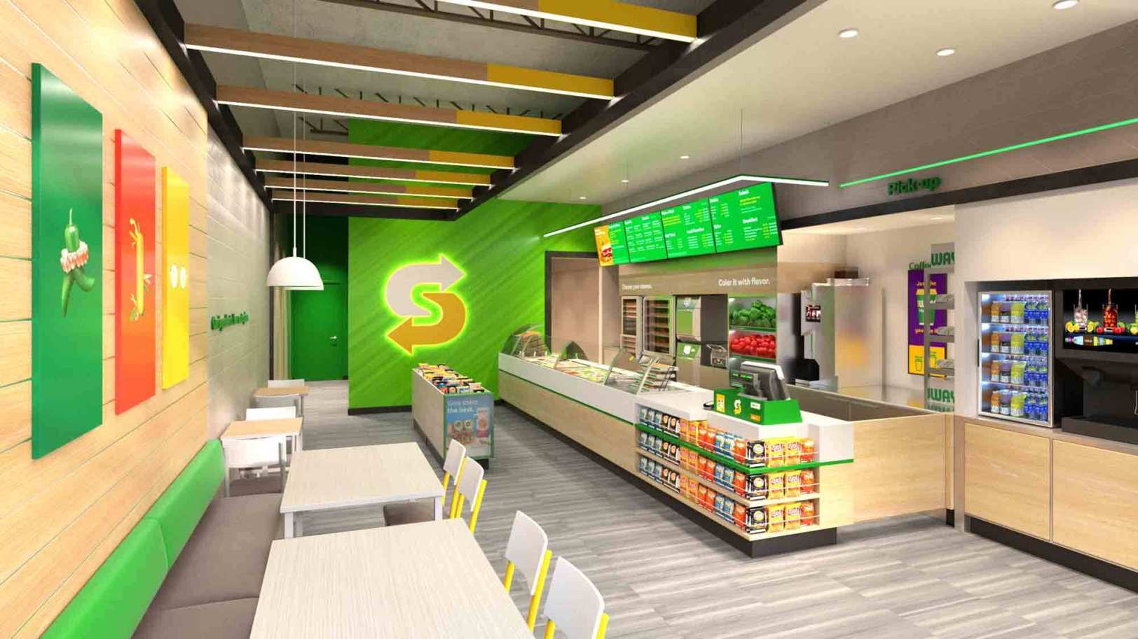 Subway Dining Option