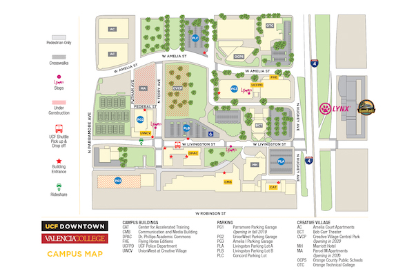 Campus Digital Map