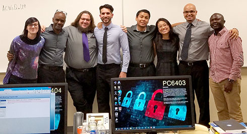 Cyberdefense Competition Team