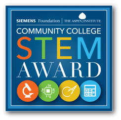 Siemens-Aspen Community College STEM Award by the Aspen Institute College Excellence Program (CEP) and the Siemens Foundation